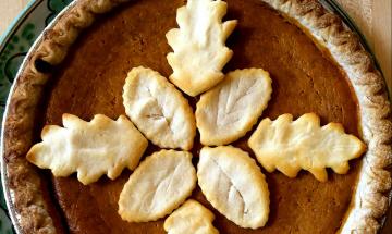 Maple Pumpkin Pie ©EverydayCookingAdventures 2014