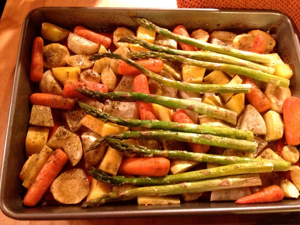 Honey-Roasted Root Vegetables Recipe — Dishmaps
