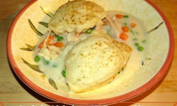 Quick Chicken and Dumplings ©EverydayCookingAdventures2015