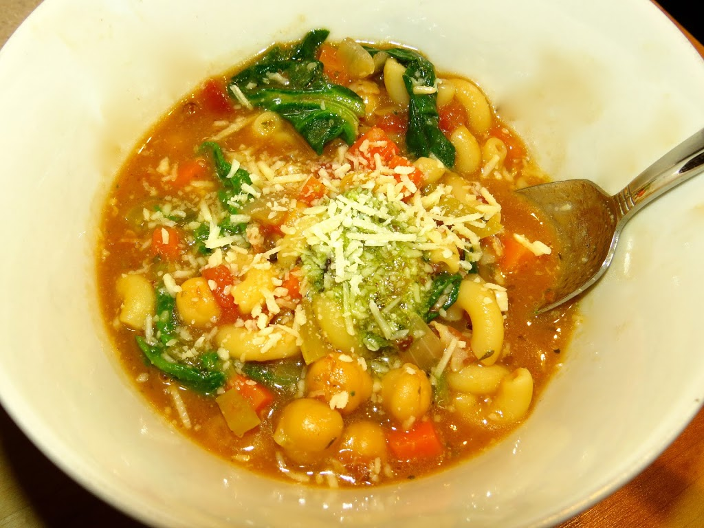 Ina Garten's Winter Minestrone & Garlic Bruschetta - Everyday Cooking...