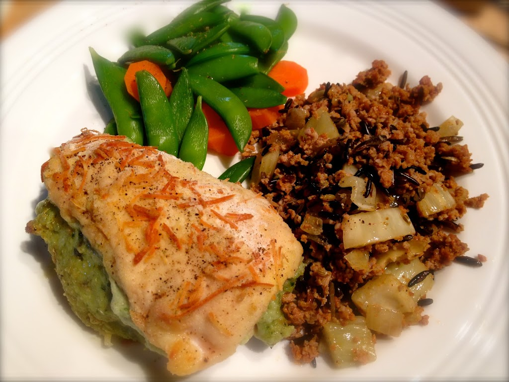 Kalyn's Kitchen's Baked Chicken Stuffed with Pesto ...