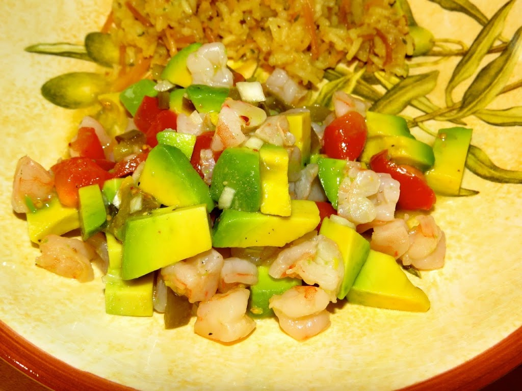 Skinnytaste's Zesty Lime Shrimp and Avocado Salad ...