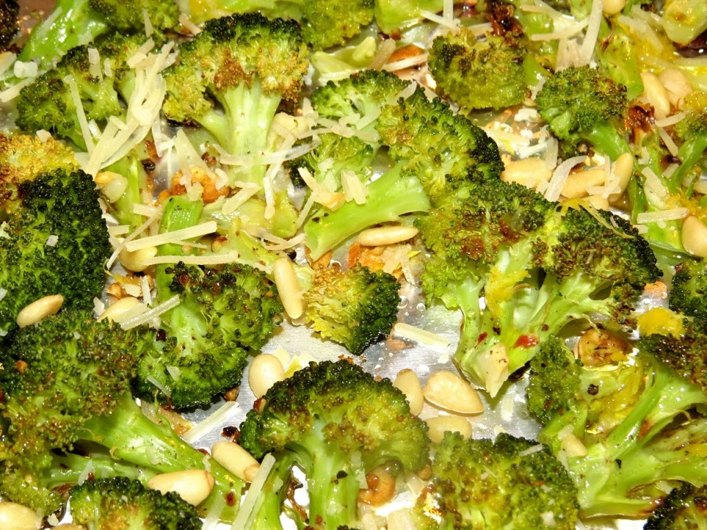 ina garten's parmesan-roasted broccoli - everyday cooking adventures