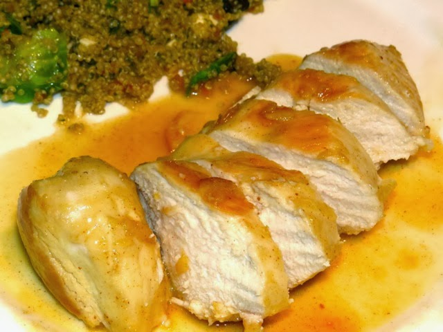 The Warm Kitchen's Sauteed Chicken with Apricot Dijon Glaze - Everyday ...