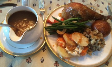 Ina Garten's Make-Ahead Gravy ©EverydayCookingAdventures2014