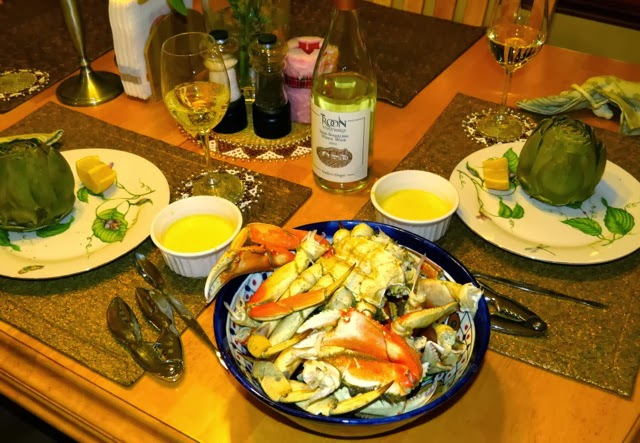 Food & Wine's Steamed Dungeness Crab with Meyer Lemon Aioli - Everyda...