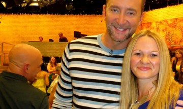 Me with Clinton Kelly! ©EverydayCookingAdventures 2014
