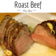 Roast Beef for Two ©EverydayCookingAdventures