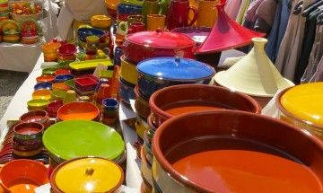 Handmade Cooking Pottery in Provence, France ©EverydayCookingAdventures 2014