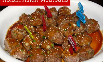 Hoisin Asian Meatballs ©EverydayCookingAdventures 2014