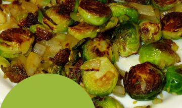 Caramelized Brussels Sprouts ©EverydayCookingAdventures 2014