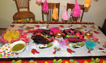 Mexican Fiesta Party ©EverydayCookingAdventures 2014