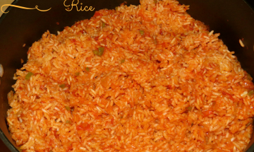 Mexican Rice ©EverydayCookingAdventures 2014
