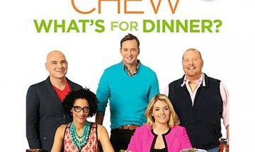 """""""The Chew: What's for Dinner"""" Cookbook Giveaway"""