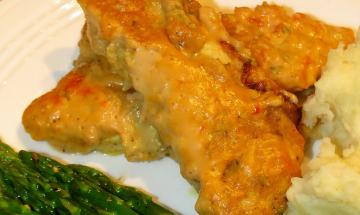 Creamy Tomato Baked Chicken ©EverydayCookingAdventures 2014