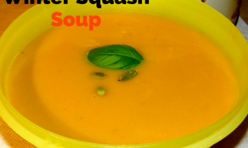 Winter Squash Soup ©EverydayCookingAdventures 2014