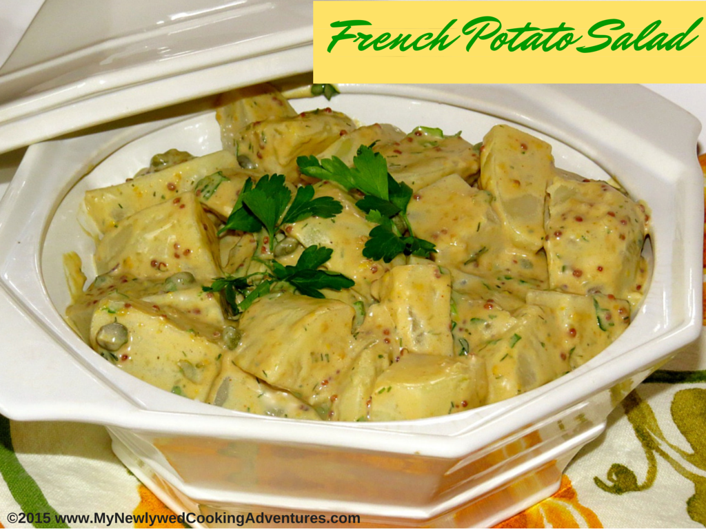 Martha Stewart French Potato Salad ©EverydayCookingAdventures2015