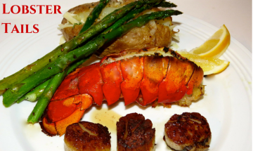 Garlic Lobster Tails ©EverydayCookingAdventures2015