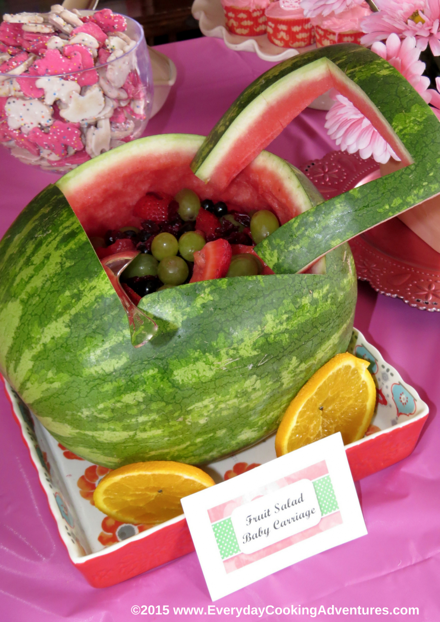 Taste Of Home's Watermelon Baby Carriage