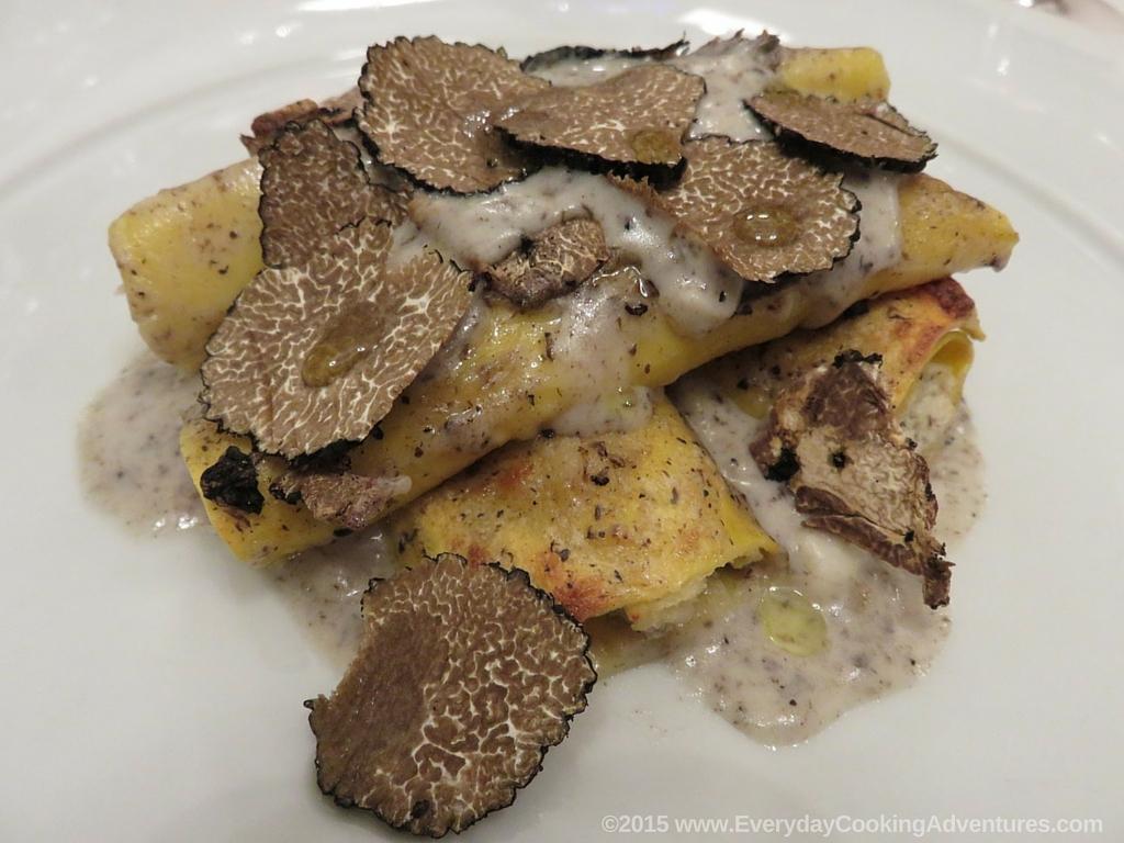 Pasta with Black Truffles ©EverydayCookingAdventures2015