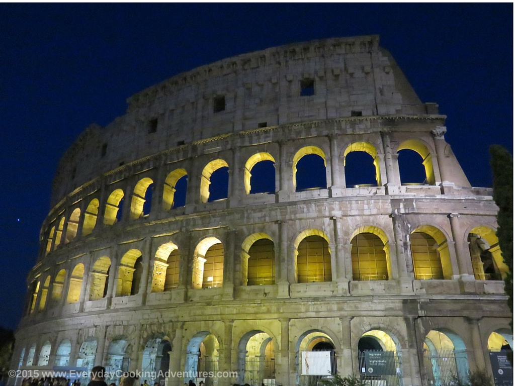 Coliseum in Rome, Italy ©EverydayCookingAdventures2015