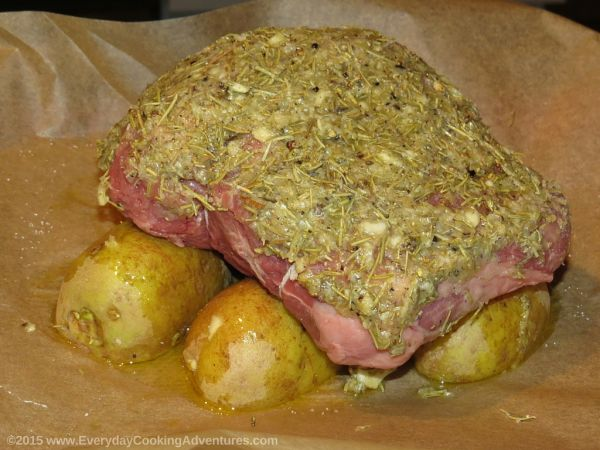 Ina Gartens Herb Roasted Lamb Everyday Cooking Adventures