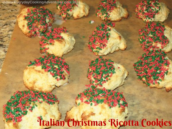 The Clever Carrot S Italian Christmas Ricotta Cookies Everyday