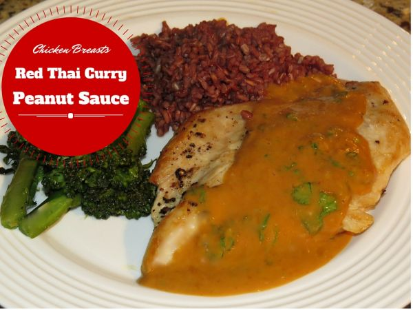 Fine Cooking's Chicken Breasts with Red Thai Curry Peanut ...