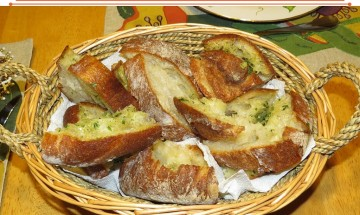 Barefoot Contessa Ciabatta Garlic Bread ©EverydayCookingAdventures2016