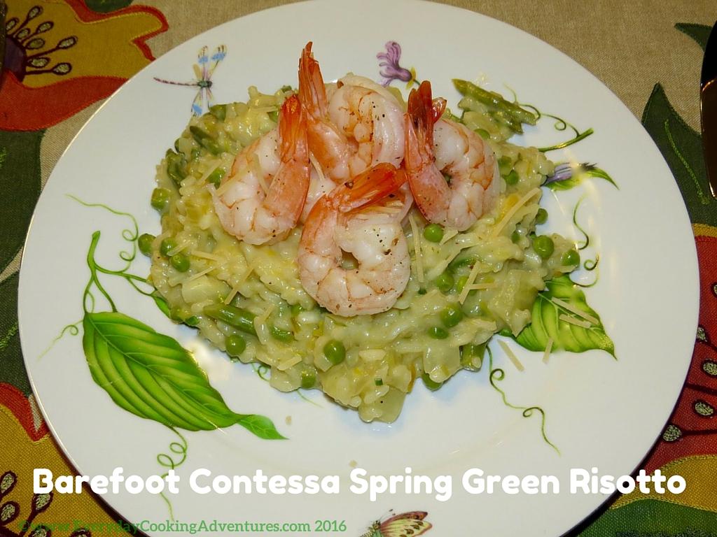 Barefoot Contessa Spring Green Risotto ©EverydayCookingAdventures2016-3