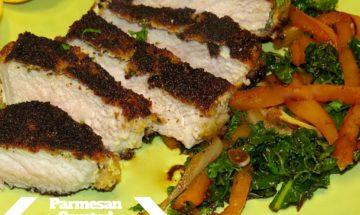 Giada's Parmesan Crusted Pork Chops ©EverydayCookingAdventures2016-2