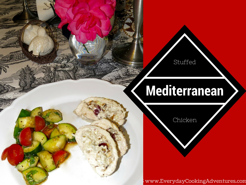 Mediterranean Stuffed Chicken with CaveTools ©EverydayCookingAdventures2016-3