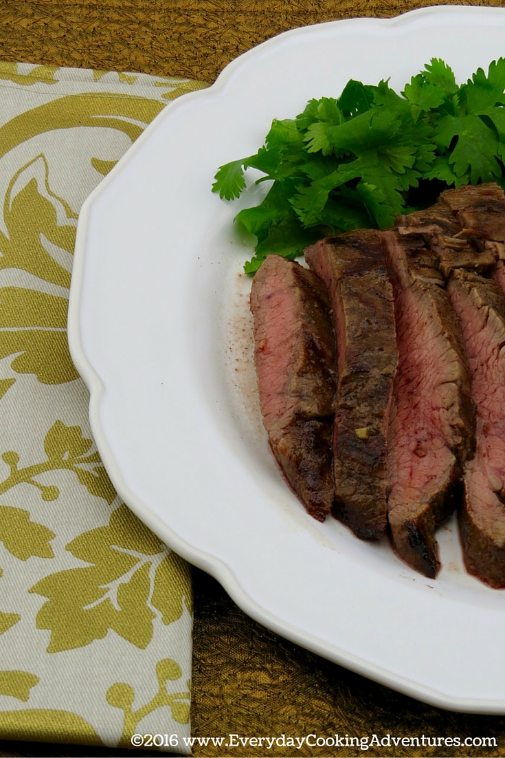 Martha Stewart recipe Asian-Flavored Skirt Steak ©EverydayCookingAdventures2016
