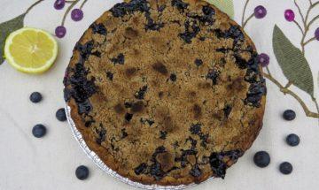 Bon Appetit Blueberry Crumble Pie ©EverydayCookingAdventures2016-2