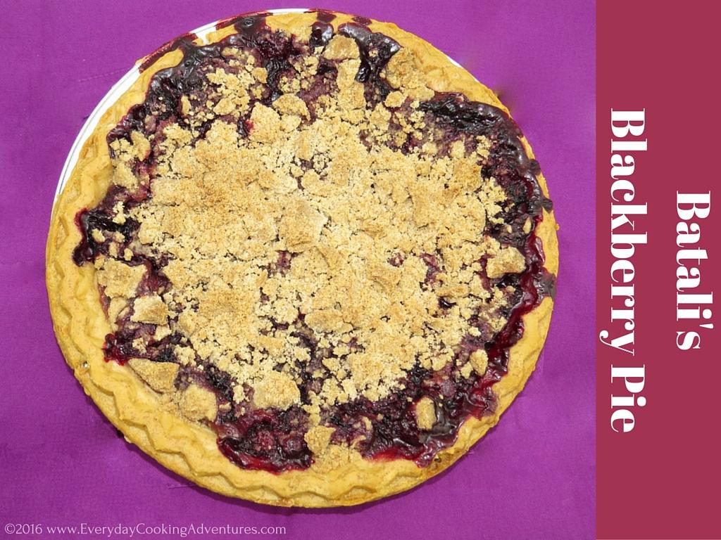 Marilyn Batali's Blackberry Pie ©EverydayCookingAdventures2016-3