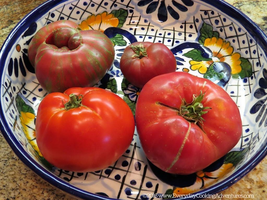 NY Time Tomato Watermelon Salad ©EverydayCookingAdventures2016
