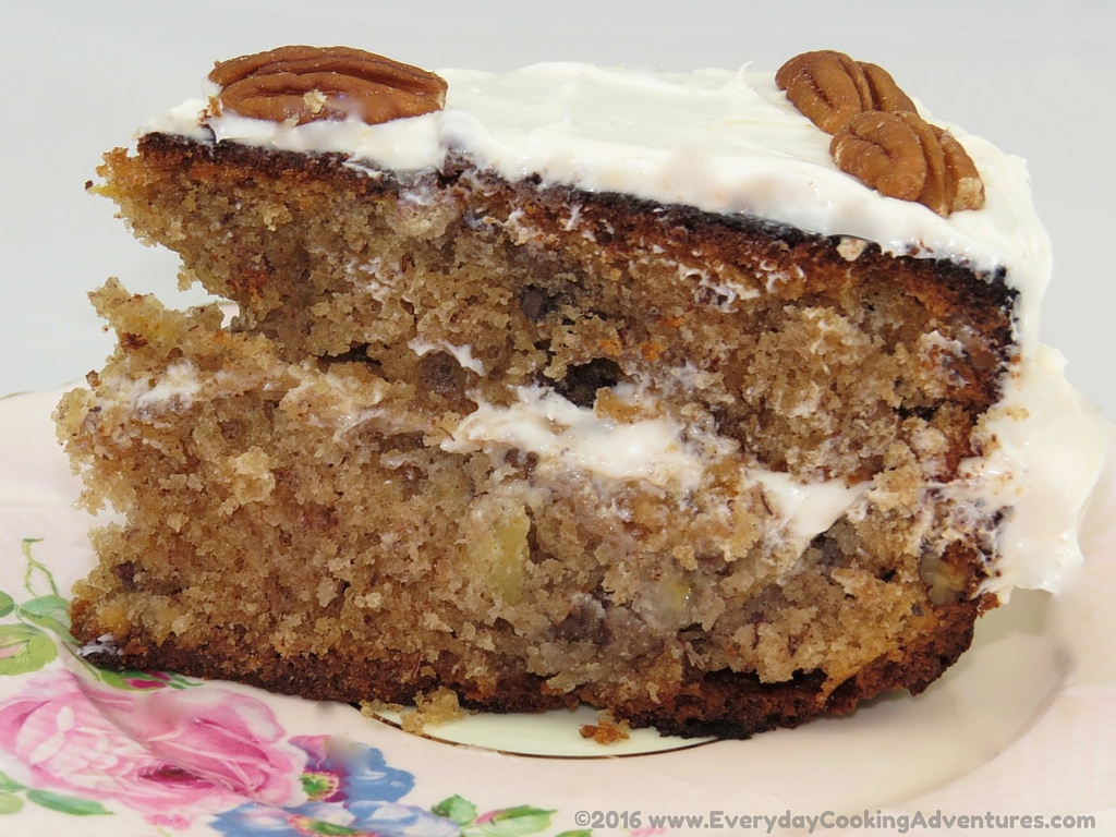 Southern Living's Hummingbird Cake ©EverydayCookingAdventures2016